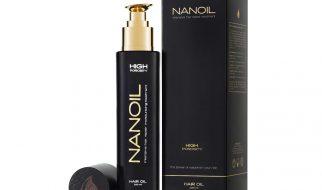 den bästa håroljan Nanoil
